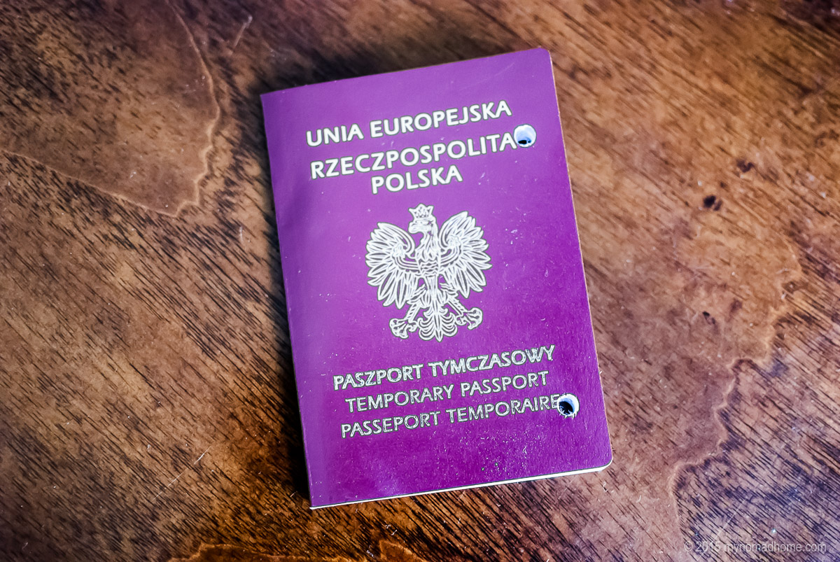 temporary passport
