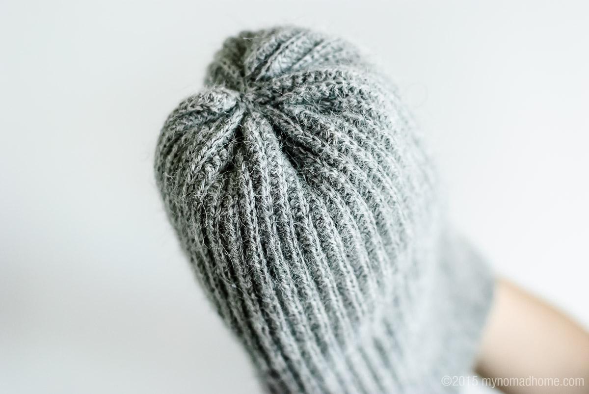 crochet rib beanie