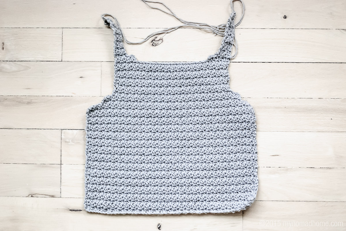 crochet toddler vest