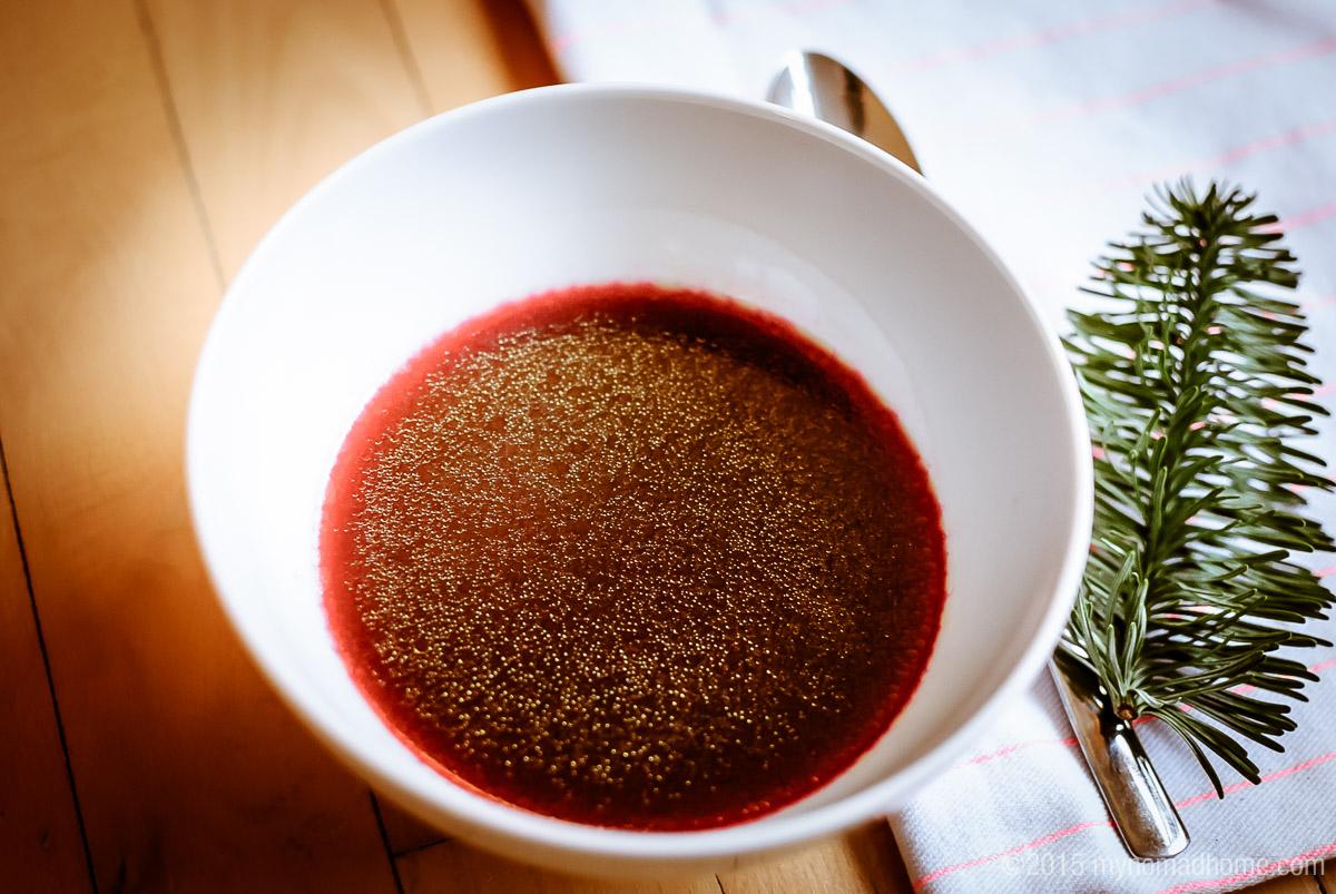 Christmas borscht