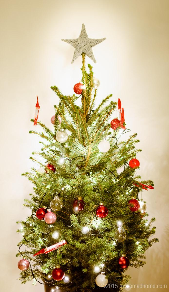 crochet christmas tree star